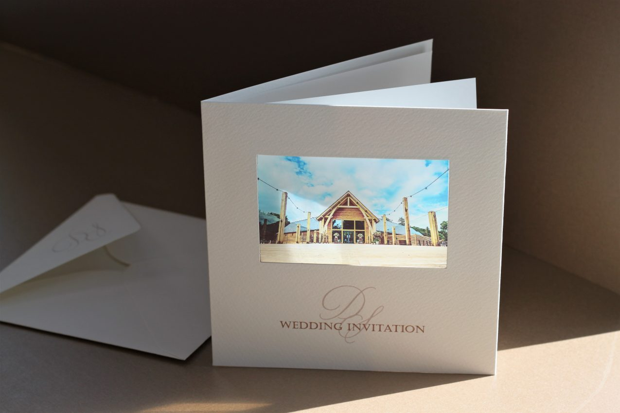 The Mill Barns wedding invites