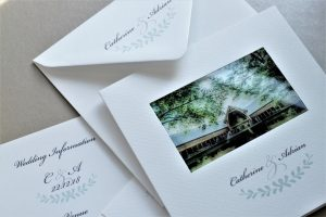 The Mill Barns, Averly wedding stationery