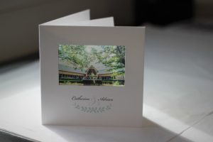 The Mill Barns wedding stationery