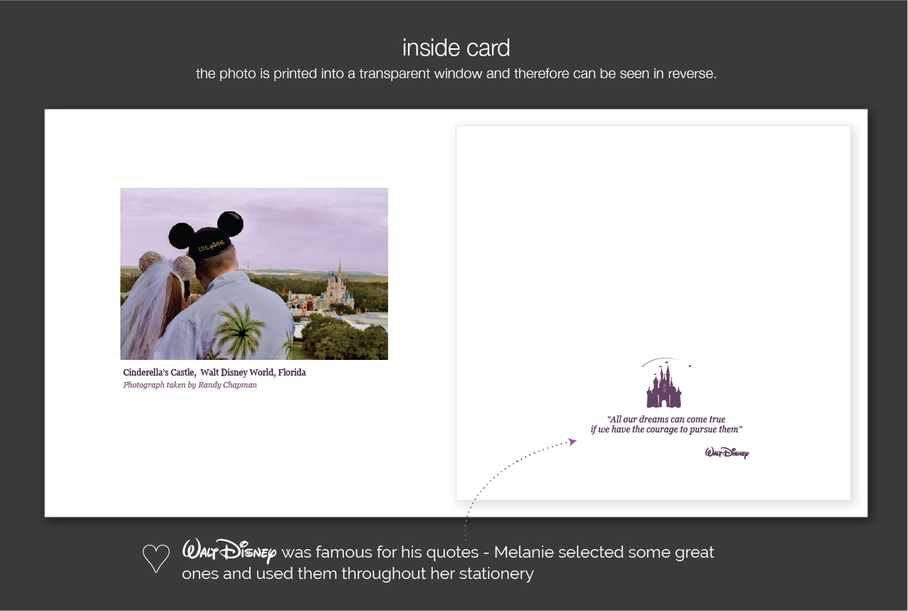 disney wedding invitation