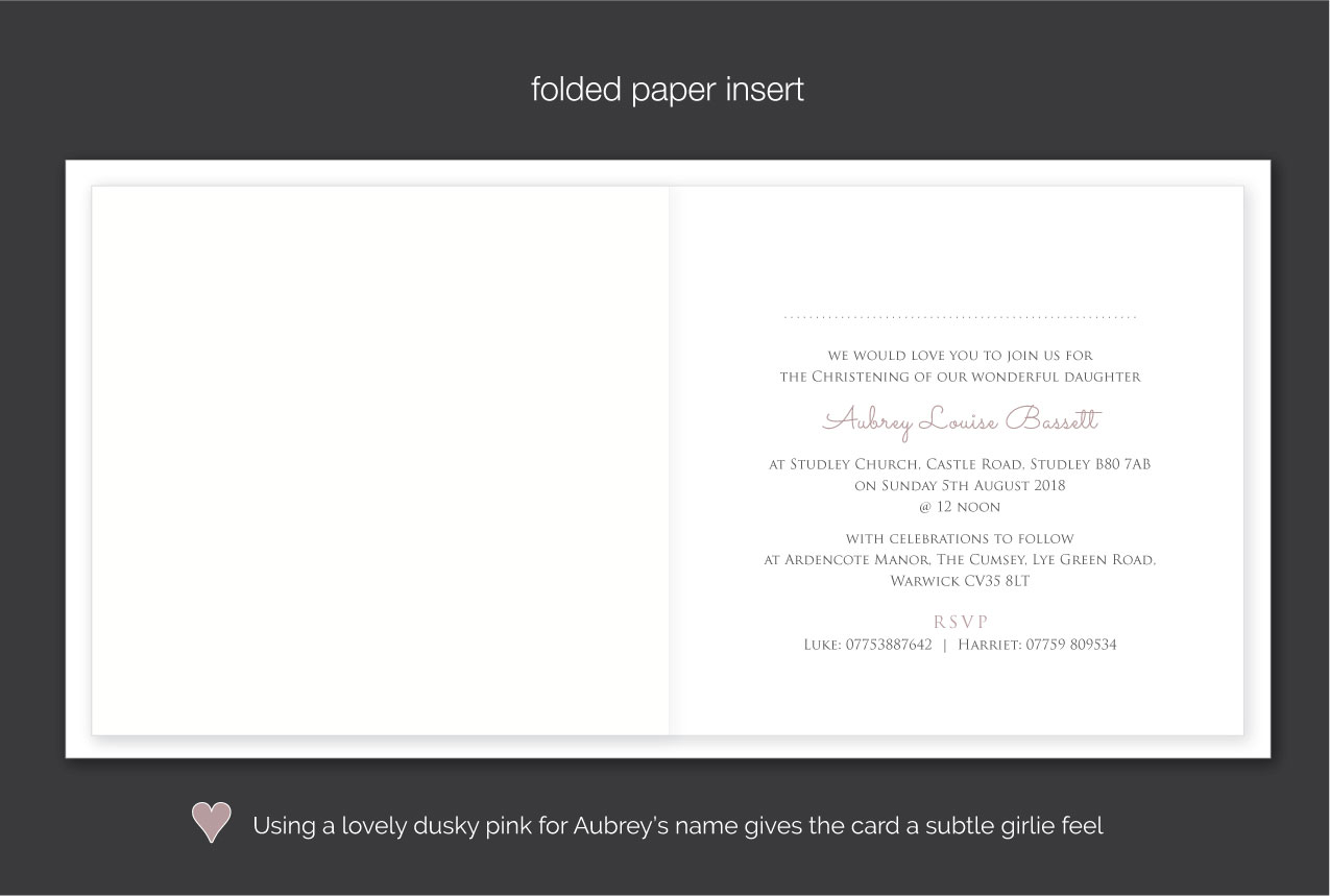 beautiful christening invitations with baby photo