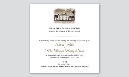 personalised postcard invitations