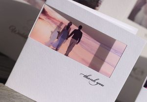 wedding abroad thank you cards
