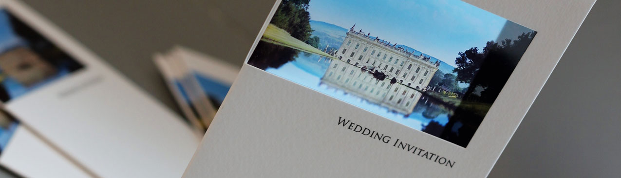 personalised wedding invitations using your photo