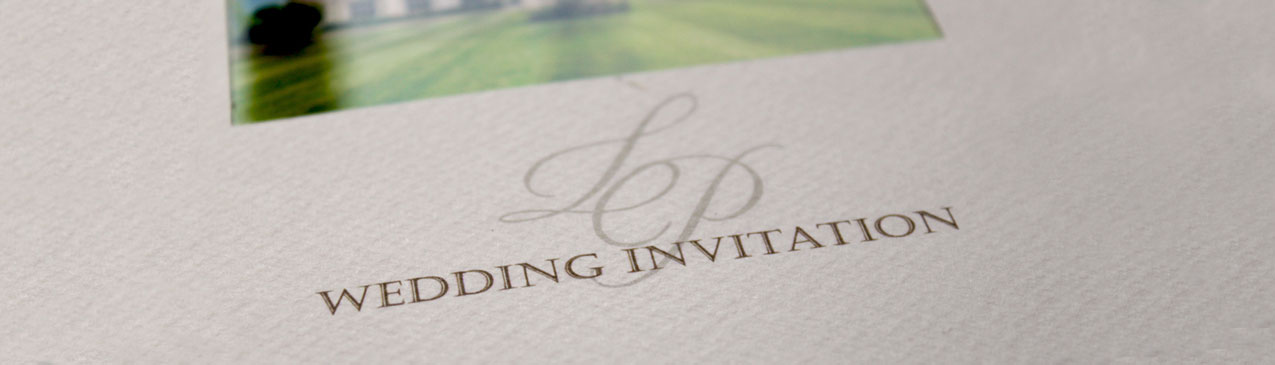 luxury personalised wedding stationery