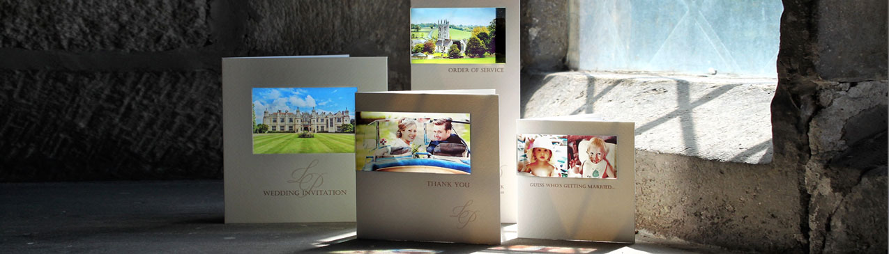 personalised wedding stationery using your photo
