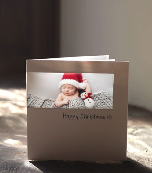 personalised christmas cards using your photo