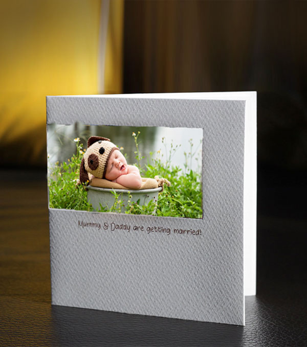 luxury personalised new baby cards