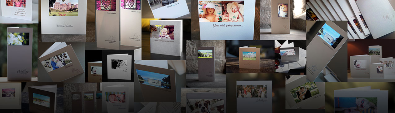 beautiful personalised photo cards