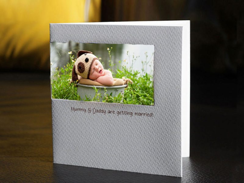beautiful birth announcement cards