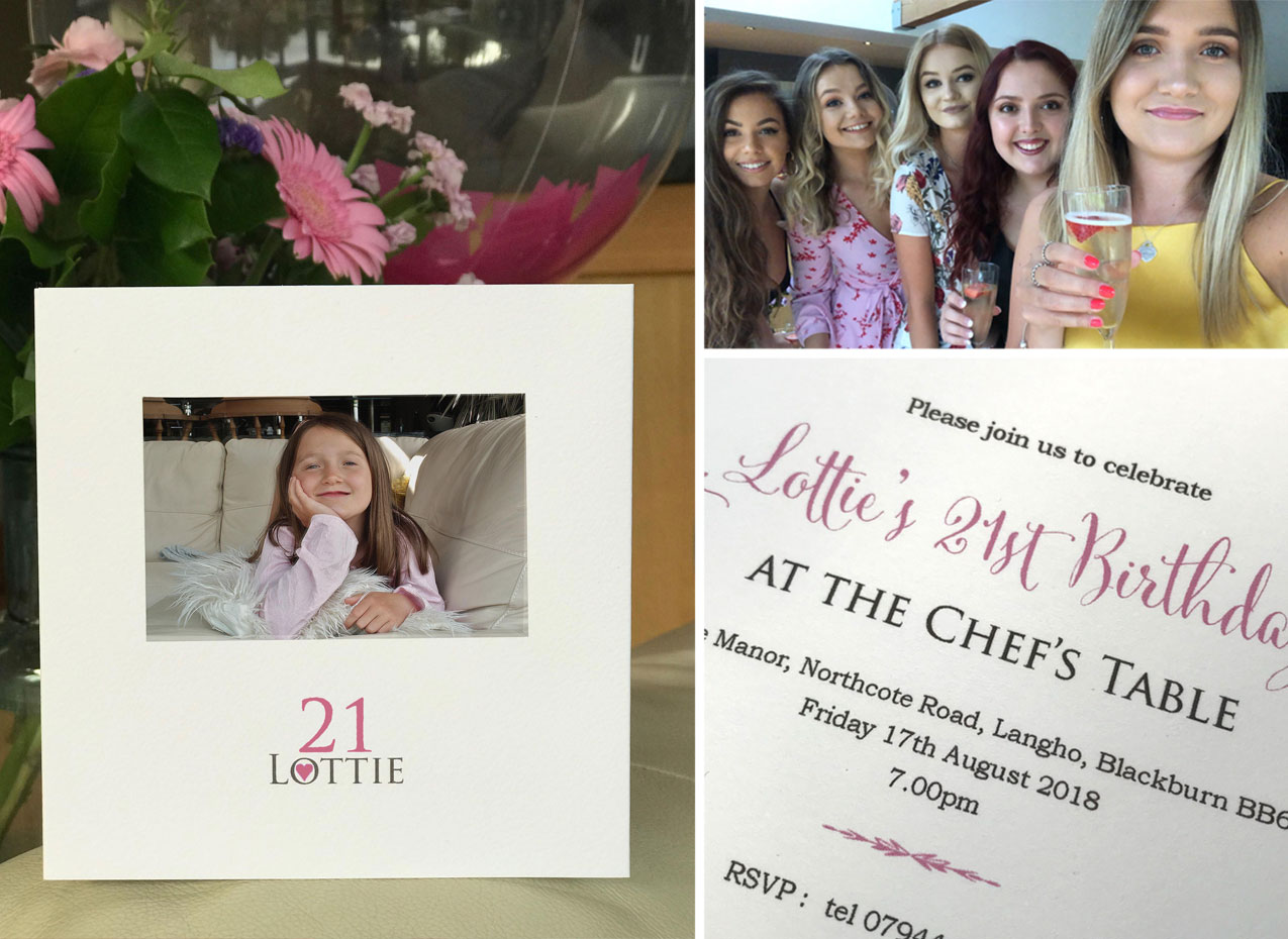 personalised 21st birthday invitations with baby photo