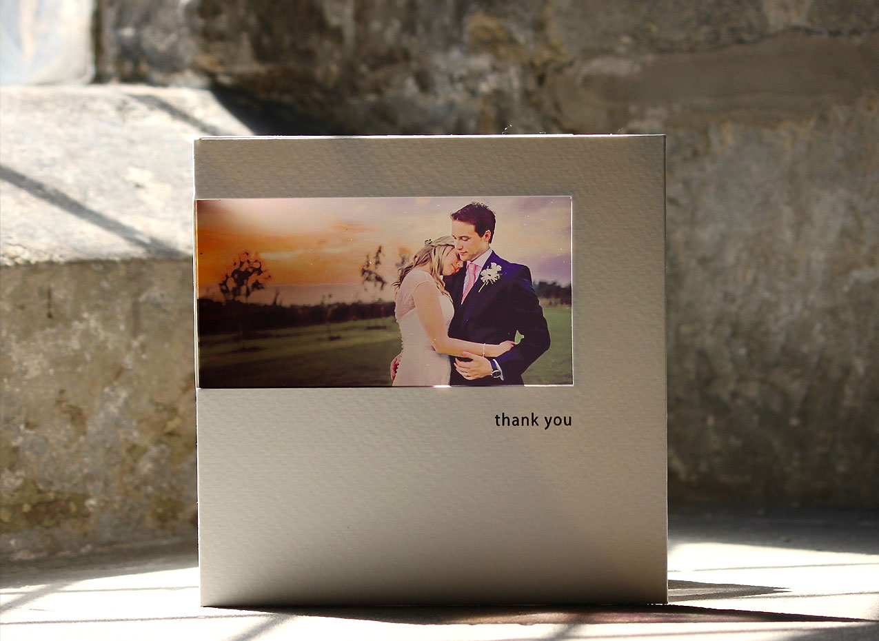 special wedding thank you cards with your photo