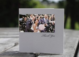 Wedding stationery that uses your photo
