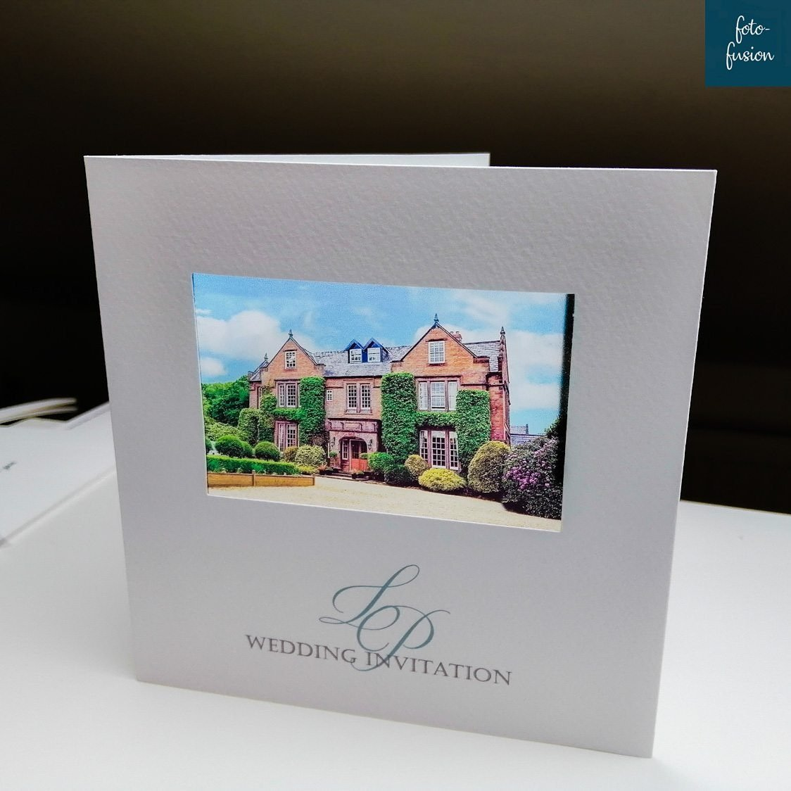 Wedding stationery bespokely made by foto-fusion